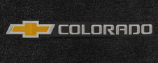 chevy colorado logo floor mats